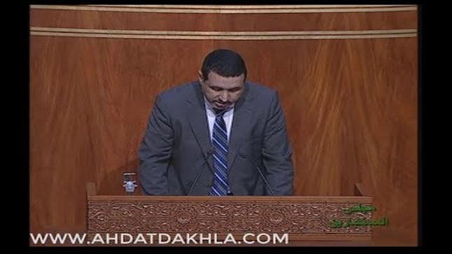 """بالفيديو: البرلماني """"امبارك حمية"""" يكشف المستور في ملف الصرف الصحي بالمنطقة الصناعية بالداخلة"""