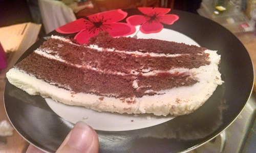Image result for thin slice of cake