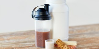 Sugar free whey protein powder