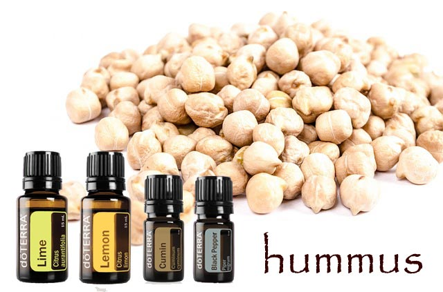 Yummy Hummus With doTERRA Essential Oils