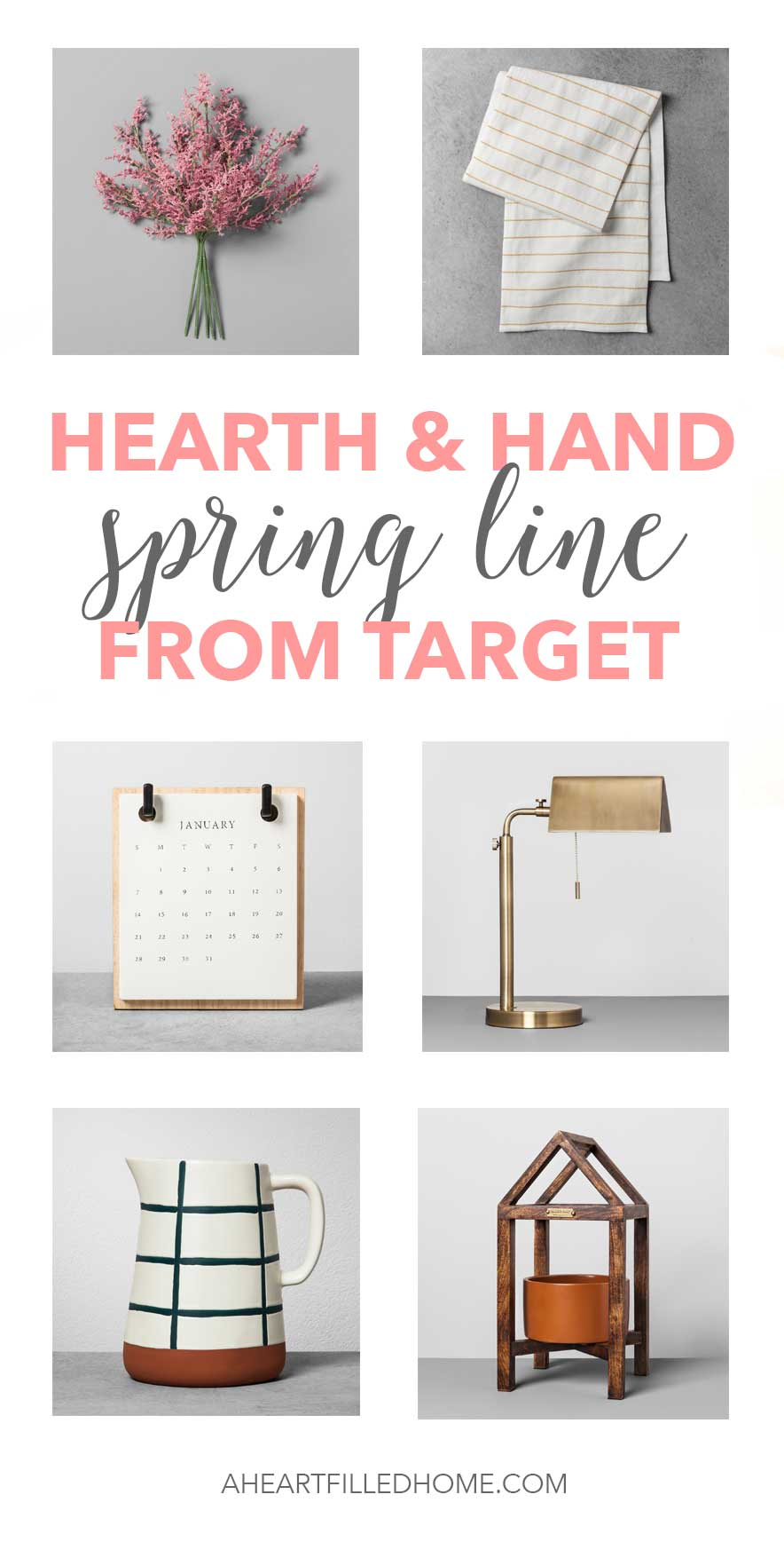 Hearth and Hand Spring Line from Target! So many beautiful items from Magnolia!