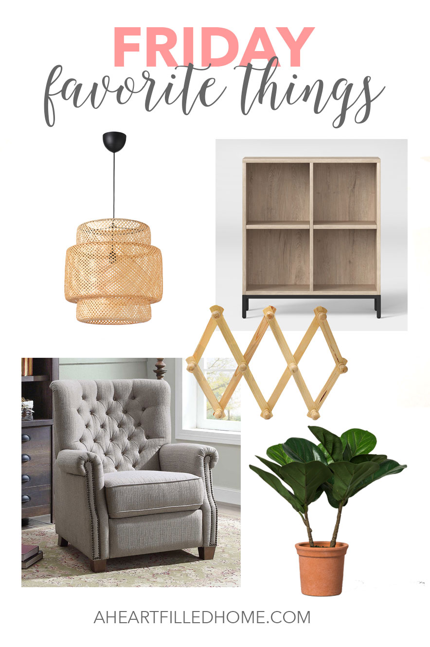 Friday Favorite Things, Walmart recliner, Ikea, target