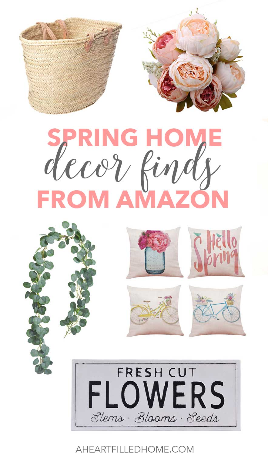 Spring Home Decor Finds from Amazon! from A Heart Filled Home