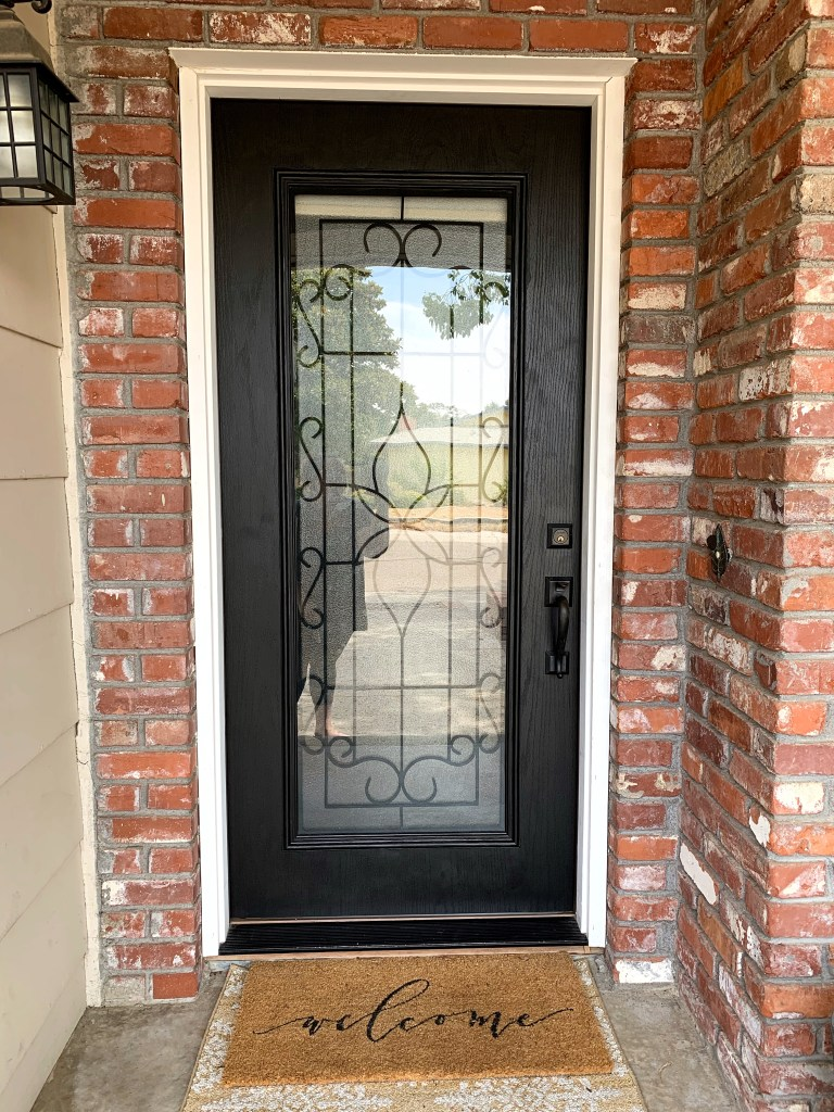 Front Door Makeover with Fusion Mineral Paint