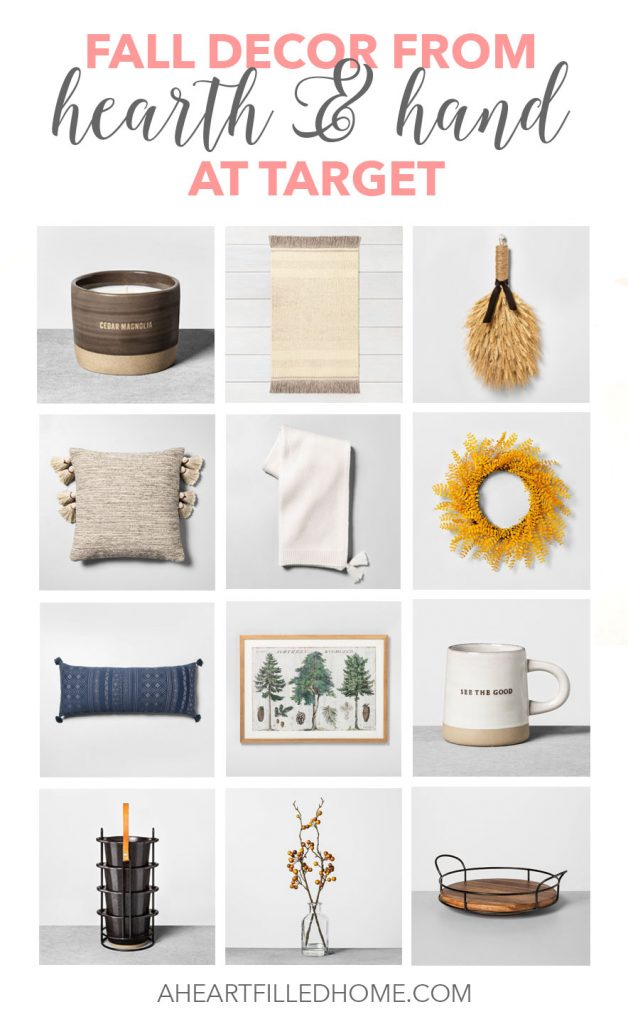New Fall Decor at Target - hearth and hand by Joanna Gaines - at aheartfilledhome.com