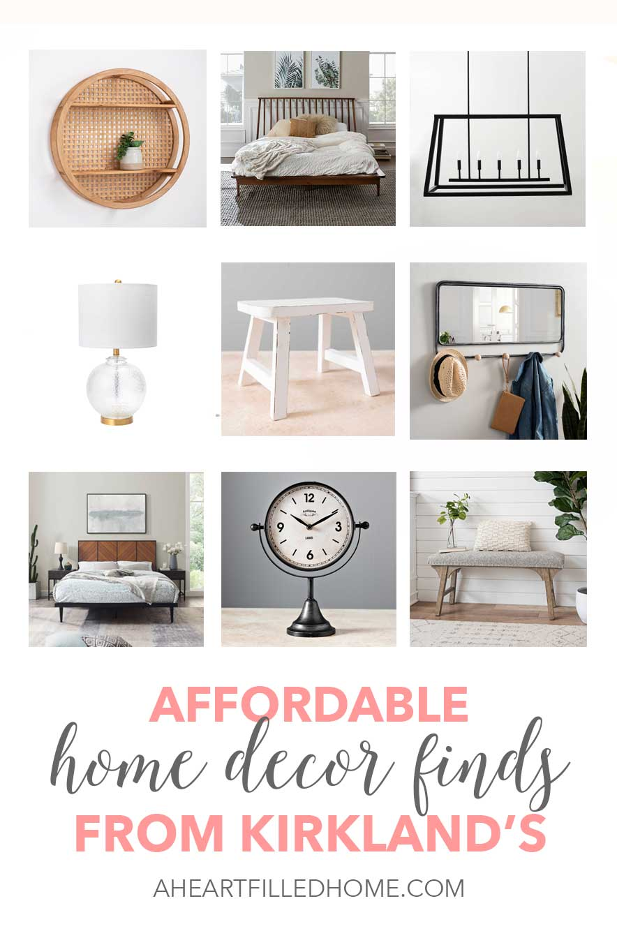 Affordable Home Decor Finds From Kirkland S A Heart Filled Home Diy Home Decor