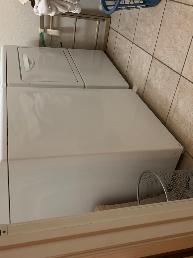 Budget Friendly Laundry Room Makeover - $100 Room Challenge Week 1