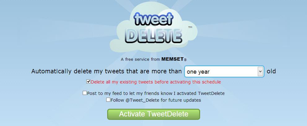tweet delete - هذه المواقع تقدم لك خيار حذف جميع تغريدات تويتر أو مجموعة منها على دفعة واحدة