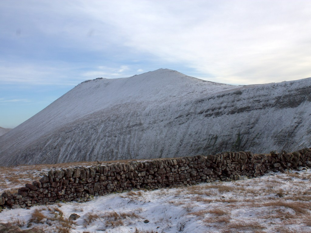 Snow on Galtee Wall