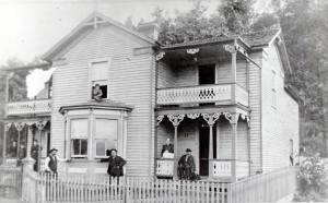 Samuel and Sarah Stoup Home Located on Verge Street, Clifton Forge Donated by Keyser Family