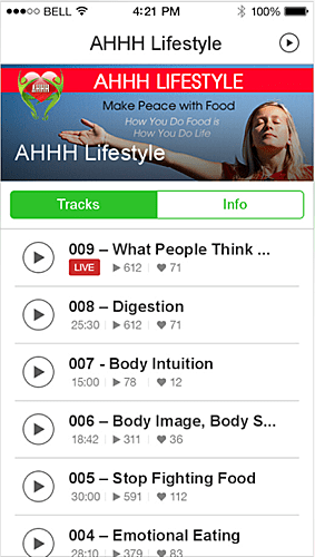 Get the AHHH Lifestyle App - Available on iTunes and Google Play
