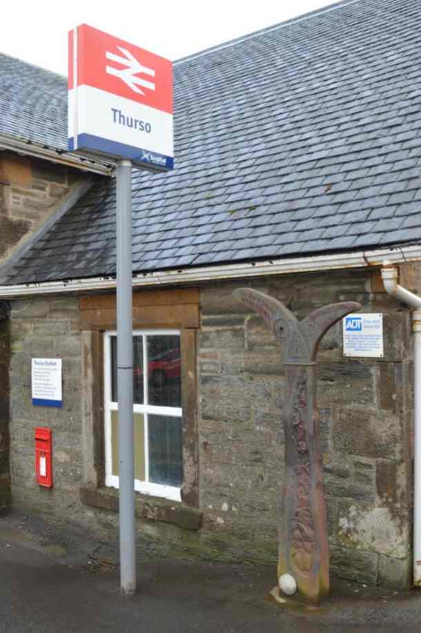 Thurso train station