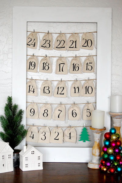 DIY Advent Calendar- A Countdown to Christmas