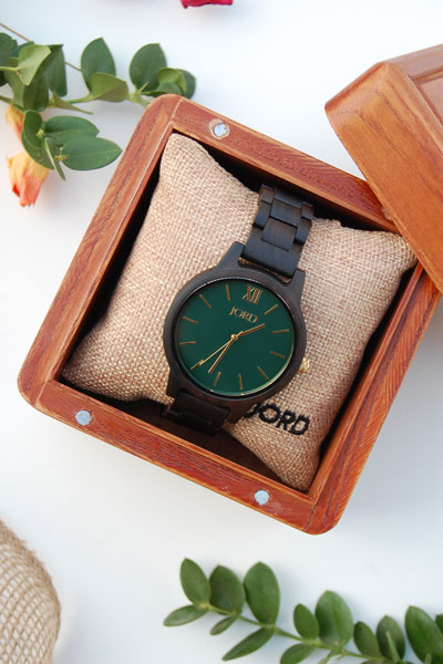 JORD Wood Watches- The Perfect Valentine's Day Gift PLUS a JORD Giveaway