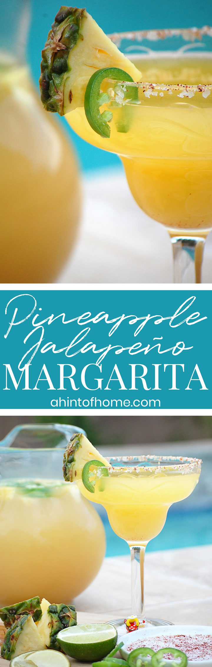 Pineapple Jalapeño Margarita For a Crowd