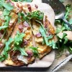 fig & prosciutto naan flatbread