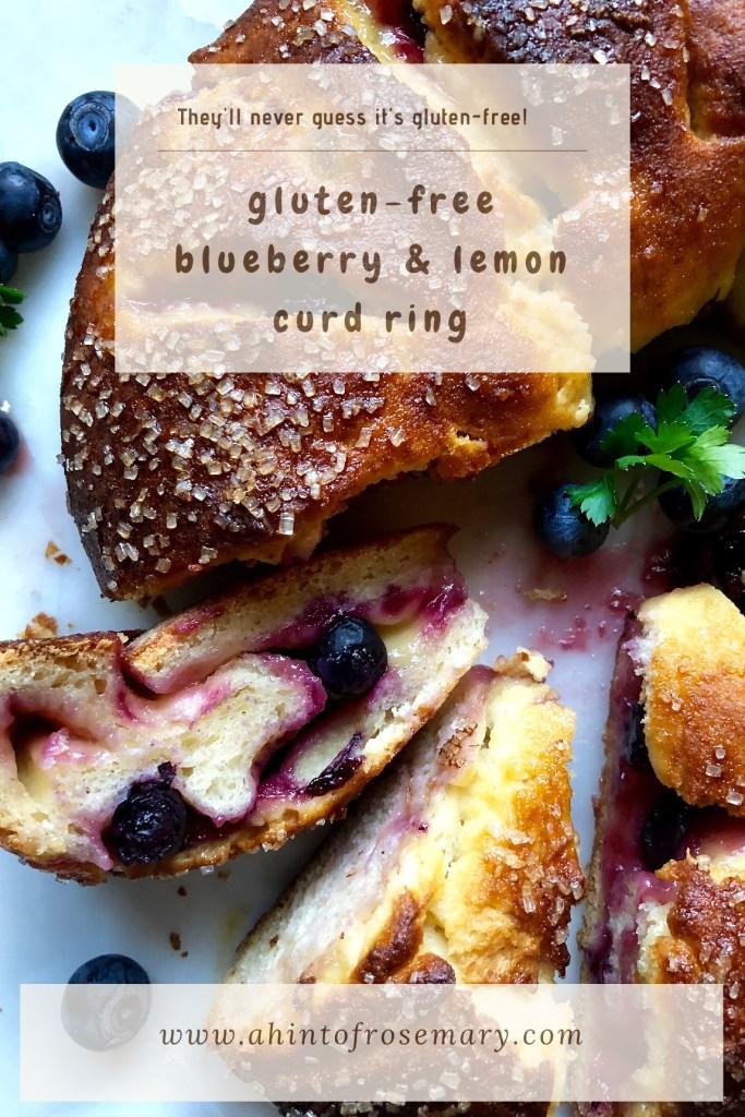 blueberry & lemon curd ring (gluten-free)