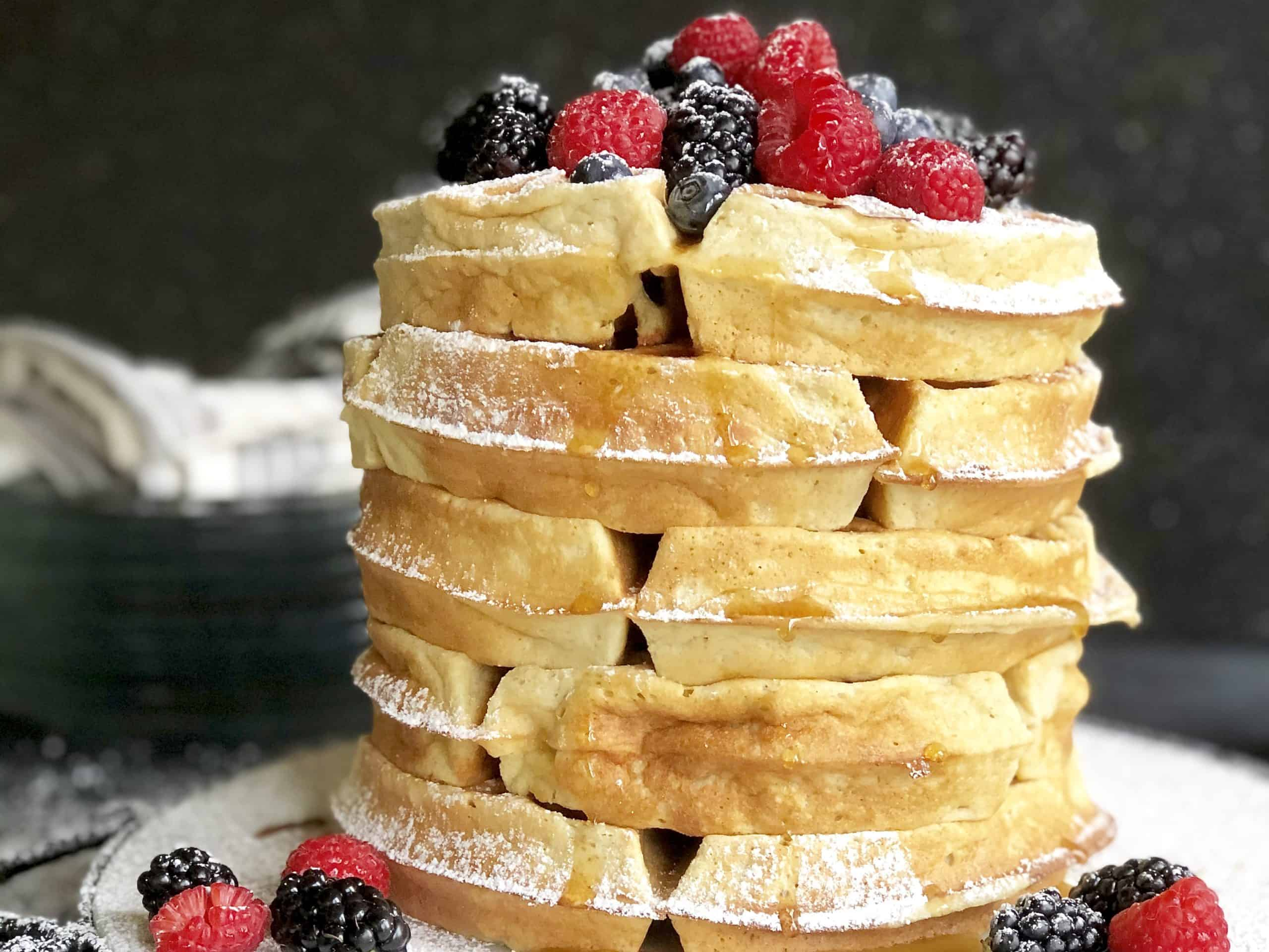 gluten-free (or not) classic belgian waffles
