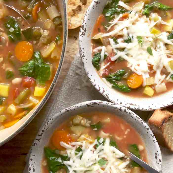 cheesy end-of-season garden minestrone