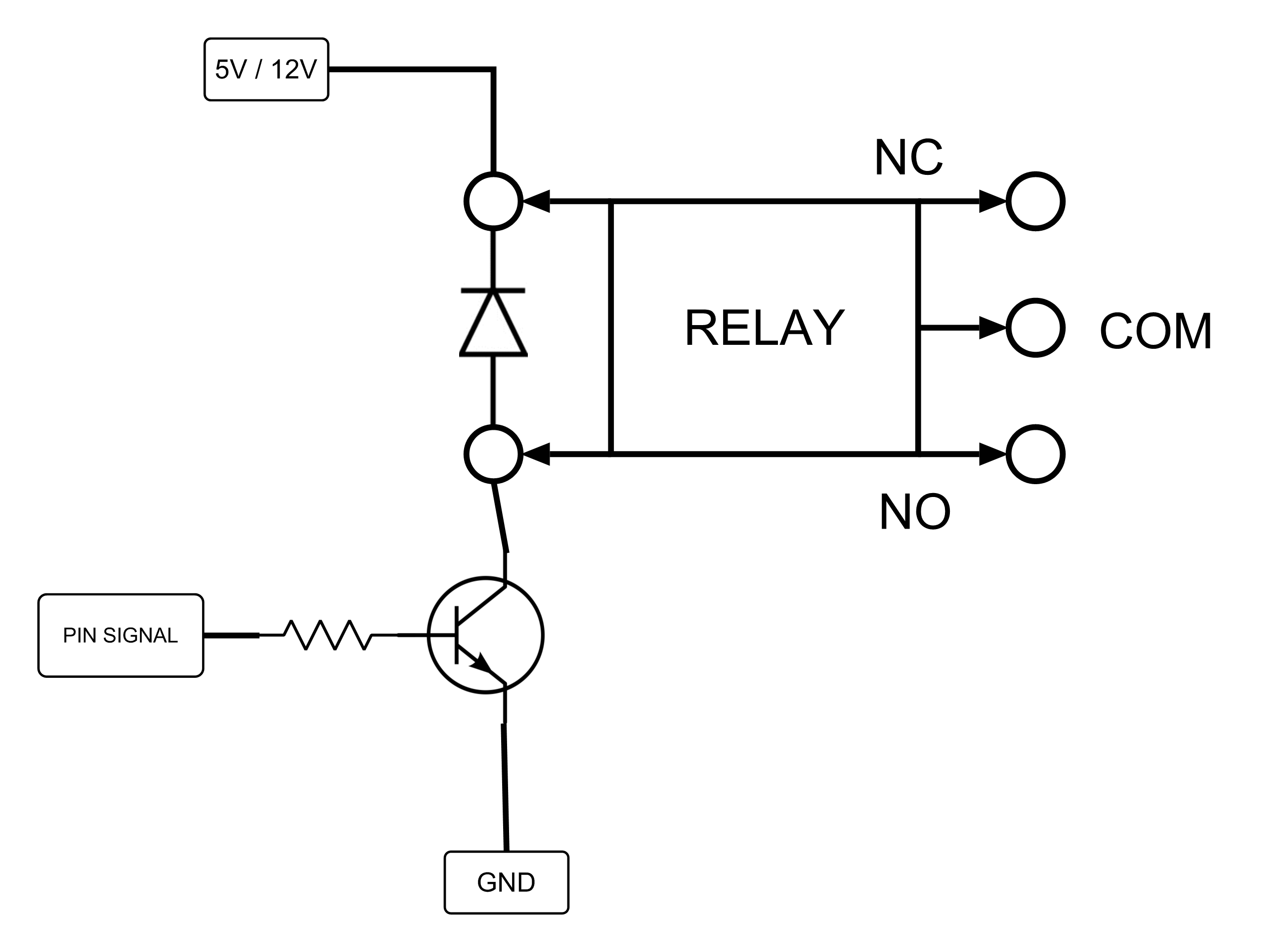 12 Volt 30 Relay With Diode