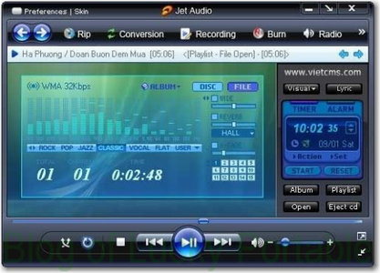 jetAudio 8.1.1 Basic