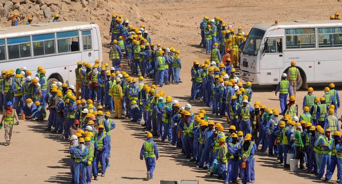 العمالة في قطر