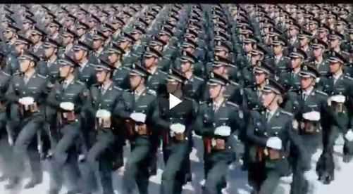 استعراض الجيش الصيني