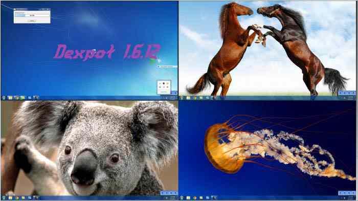 تحميل برنامج Dexpot 1.6.12 لتنظيم سطح المكتب