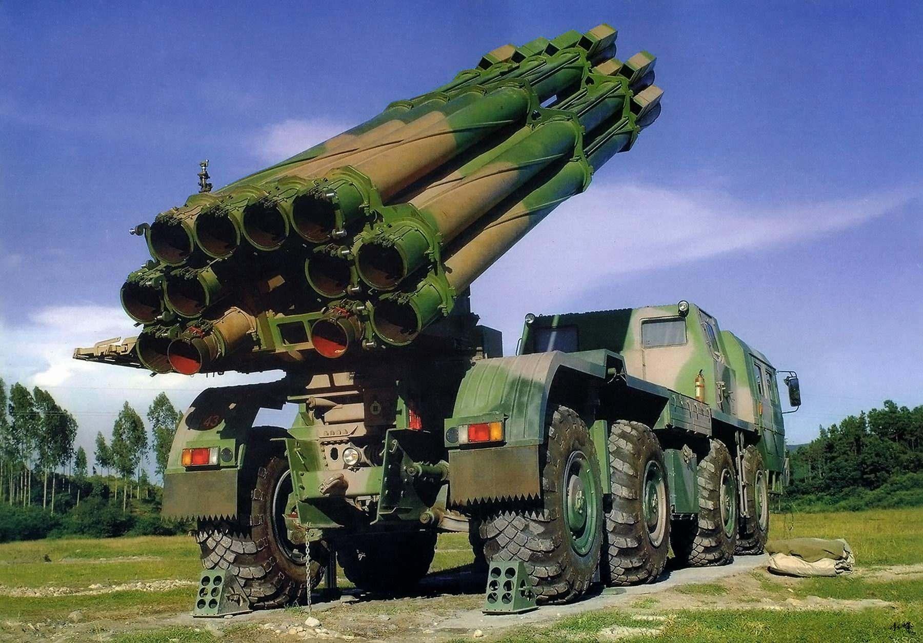 بالصور راجمة صواريخ سميرتش الروسية