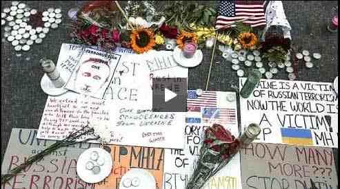 بالفيديو: مقتل 100 من كبار علماء الآيدز في حادث الطائرة الماليزية