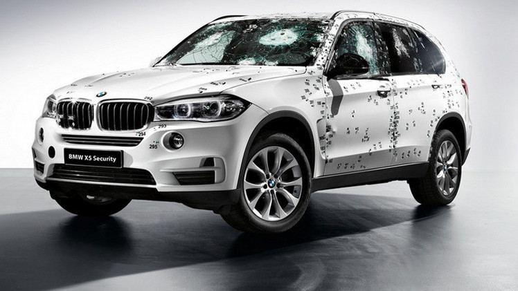 BMW تكشف عن سيارتها الجديدة المضادة للرصاص