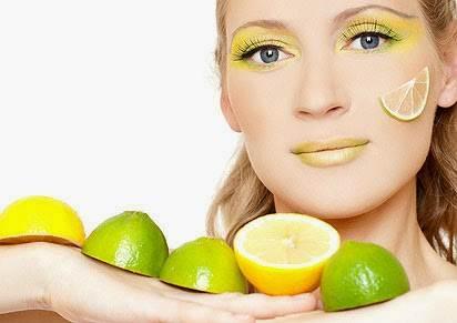 الليمون يساعد على تفتيح البشرة
