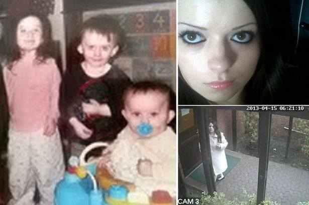 سيدة حامل تقتل اطفالها الثلاث لخوفها عليهم