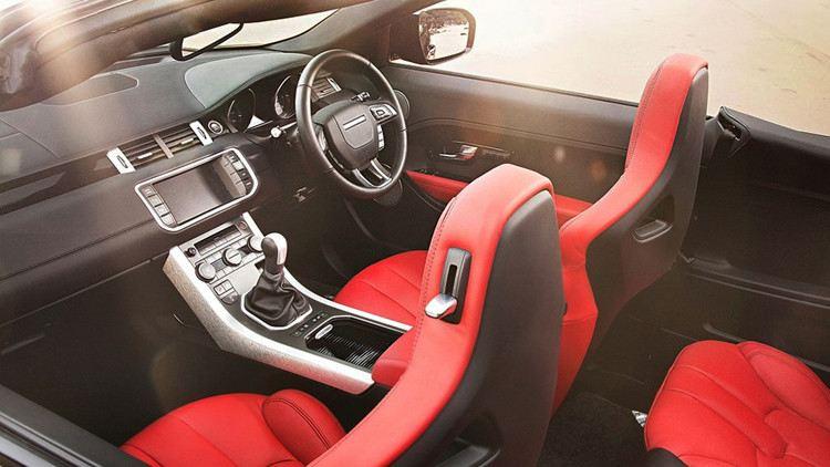 Range Rover Evoque الموديل المكشوف صور مسربه
