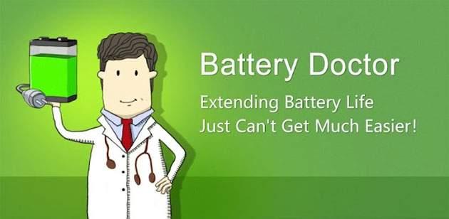 تطبيق Battery Doctor لتوفير طاقة البطارية