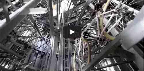 فيديو كراج الدراجات اليابان المتطور