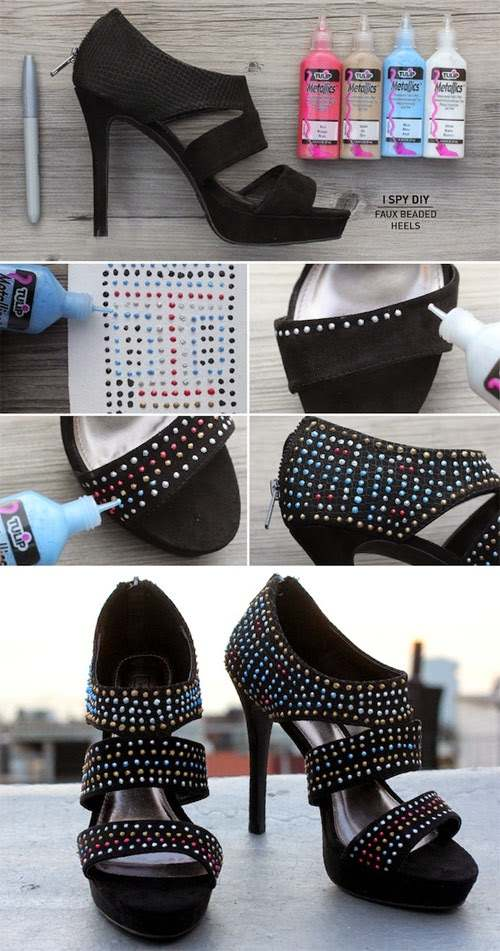 اعادة تدوير الأحذية