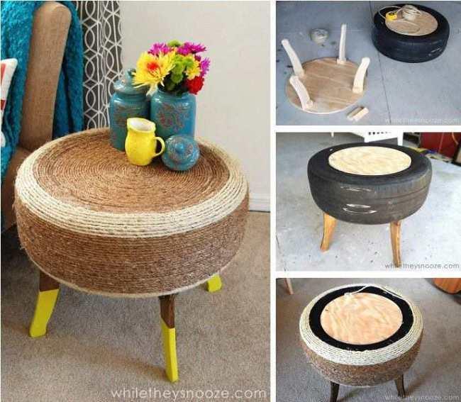 طاولة صغيرة مميزة
