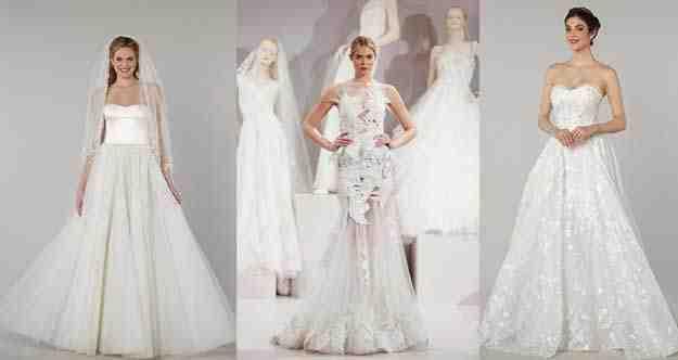 فساتين زفاف 2016 رؤية جديدة من المصمم طوني ورد
