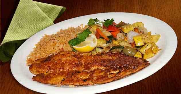 سمك مع الأرز على الطريقة الكويتية من احلى عالم