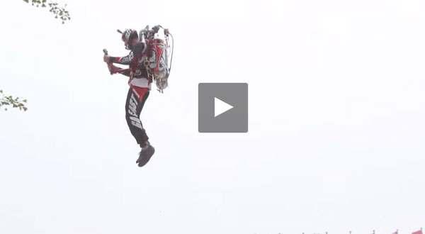 بالفيديو: واسطة النقل في المستقبل طائرة الحزمة Jet Pack