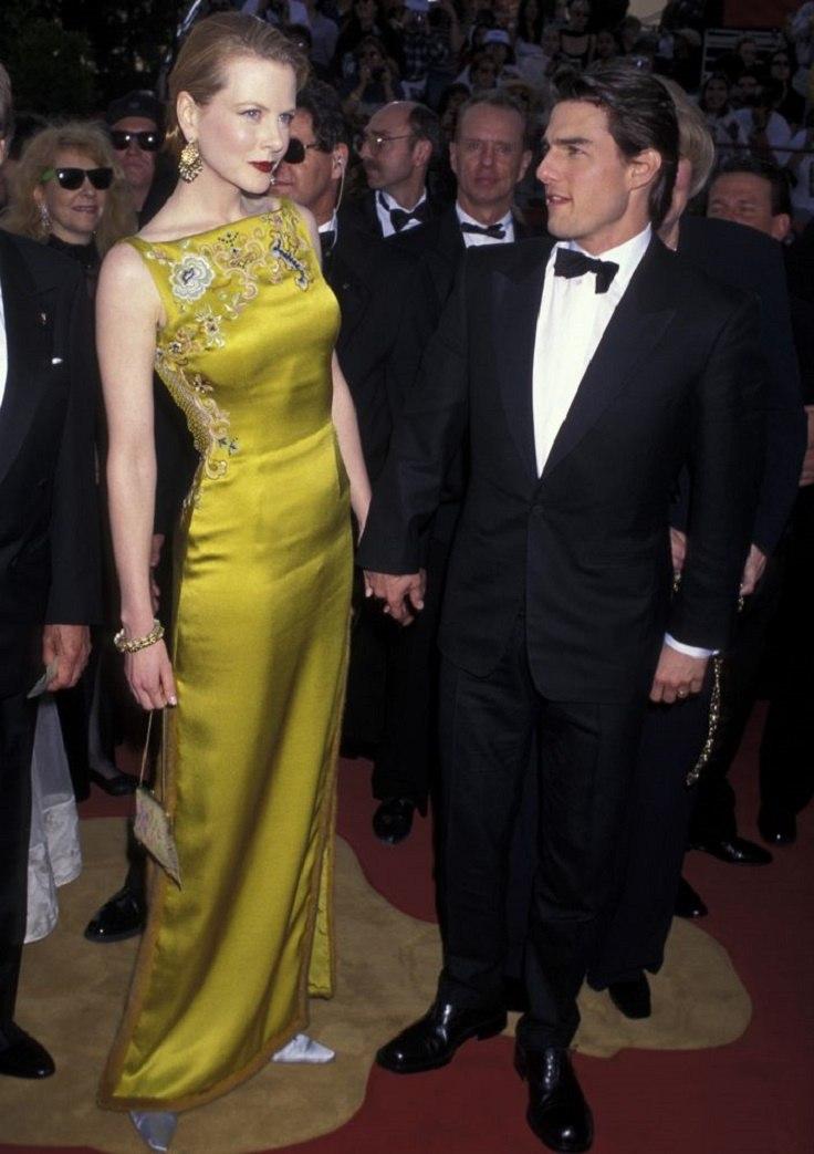 فستان أصفر