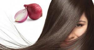 وصفة البصل لتطويل الشعر