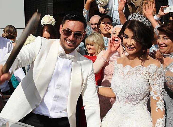 زفاف سليم مهاجر في استراليا