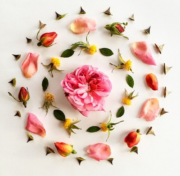دوامة زهور