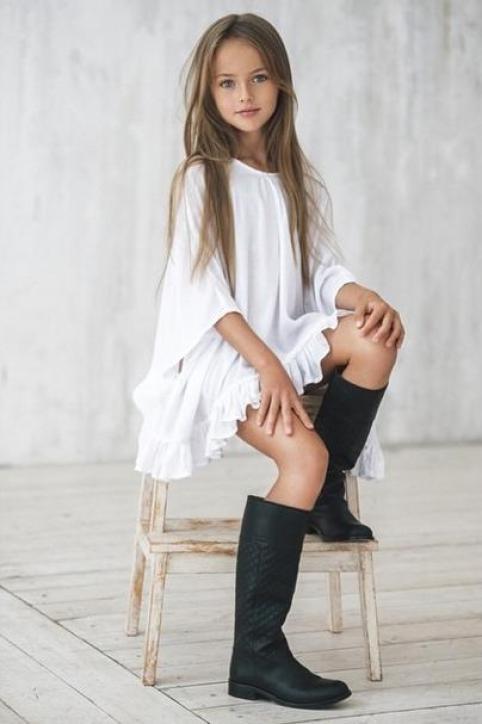 الطفلة Kristina Pimenova
