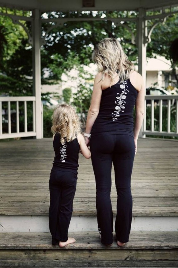 امهات و بنات بنفس الستايل