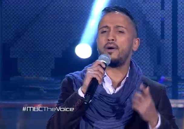 شاهد ذا فويس العرض المباشر الثالث غسان بن ابراهيم فريق شيرين