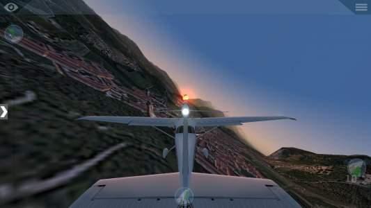 تطبيق لعبة طائرات X-Plane 10 للاندرويد واقعية