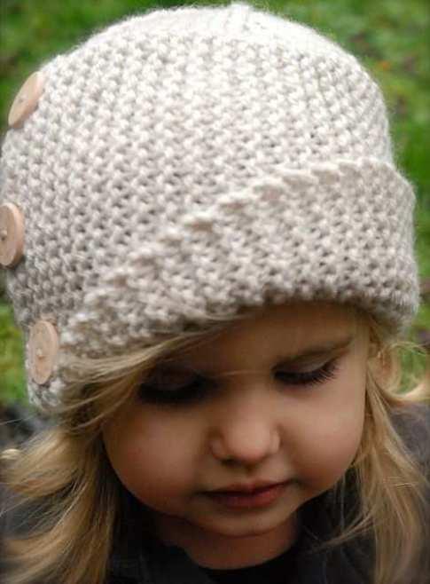 قبعات صوف كروشيه للاطفال